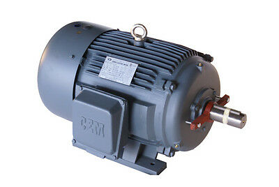 Cast Iron Ac Motor Inverter-rated 1200rpm 2hp 184t 3phase 1yr Warranty