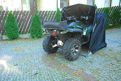 Quadgarage Garage für Quad Garage Schutzplane Faltzelt Faltgarage Schwarz XXL