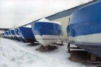 Boat Winterization & Storage (open to RV's and trailers)