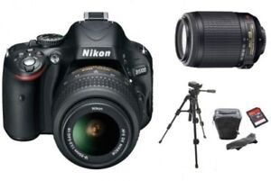 Never Used Nikon Digital SLR Camera D5100