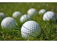 Golf balls Taylor made mixed variety one bag of 100 nice condition
