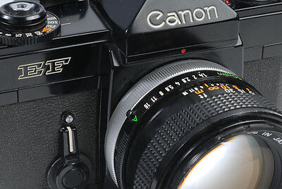 Canon EF with a second phase FD lens