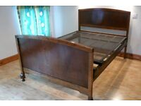 Antique bed and dressing table