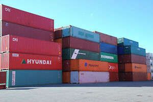 Sea Containers 20' and 40' used for sale.