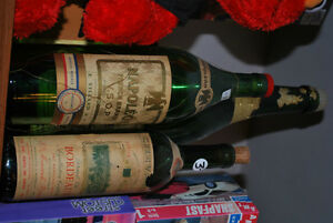 VINTAGE BOTTLES ~ OLD original liquor, champagne, medicine etc. Windsor Region Ontario image 4