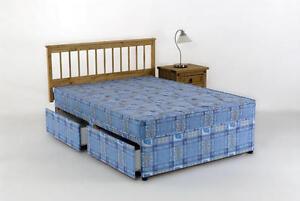 Double Divan Bed Mattress 4ft 6in Tanya 4 Drawer Set Ebay