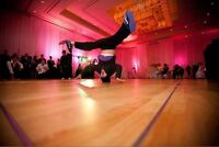 Hire breakdancers to make your special event EXTRA memorable