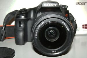 sony Slt-A65 camera with 18-250mm lens