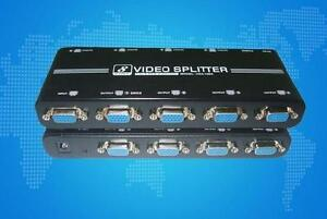 8-PORT High Quality Video Splitter - 1920x1440 - 550MHz