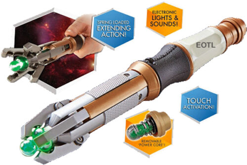Peter Capaldi Doctor Who Sonic Screwdriver