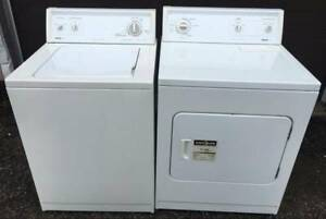 Kenmore Washer and Electric Dryer Set, 12 month warranty