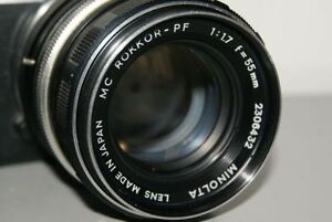 Minolta MC 55mm f1.7 with adapter >>>>>>50mm lenses for Sony E