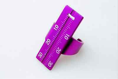 New Sale Purple New Brand Endo Ruler Ring Dental Supplies Dentist 1 Pcs Hot
