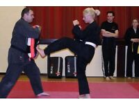 Fitness and kickboxing classes