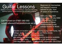 Guitar Lessons and more..
