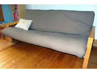 Double sofa bed (futon)