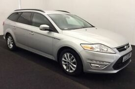 FORD MONDEO 1.6 ZETEC BUSINESS EDITION TDCI Estate 114=5 BHP F (silver) 2013