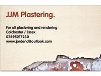JJM PLASTERING offers free no obligation quotations for all aspects of plastering and rendering.