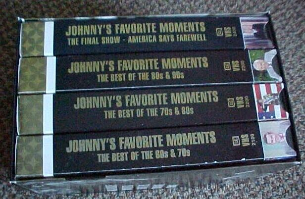 The Johnny Carson Collection: His Favorite Moments, Tonight Show, Box Set 4 VHS