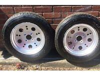 "Ford ""Gasser"" pop wheels"