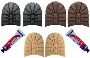 Lumberjack-Walking-Heels-Glue-Mens-DIY-Soles-Heels-7mm-Thick-Shoe-Boot-Repair
