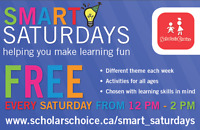 STEAM Smart Saturday ~ Scholars Choice ~ Free