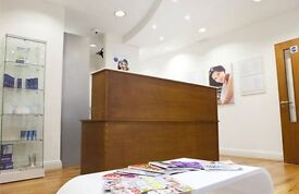 Spacious dental surgery room available to rent in High street Kensington