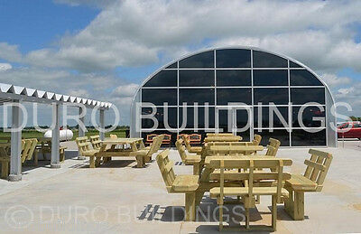 Durospan Steel 40x96x16 Metal Prefab Diy Building Kit Open Ends Factory Direct