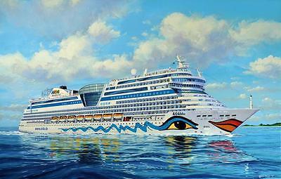 Revell 05230 Cruiser Ship AIDAblu AIDAsol AIDAmar AIDAstellla NEUHEIT 2015 OVP ,
