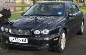 Excellent Jag. X-type Saloon car with FSH for sale