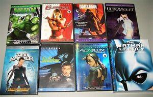 DVD Films héros 5$ +/ Coffret Batman Legacy 30$
