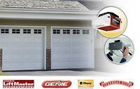 Installation and repairs of garage doors and openers