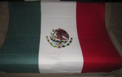 New Mexico Mexican Heritage Country Flag Soft Fleece Throw Git Blanket 5 X 4 Ft