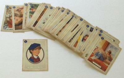 RETIRED AMERICAN GIRL MOLLY TRADING CARDS! COMPLETE 60 CARD SET! MATCH 5 BOOKS