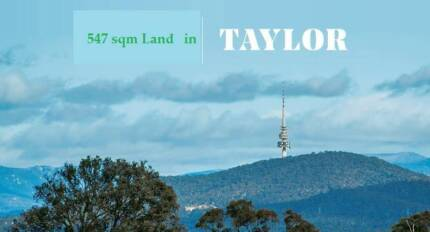 Great Block 547 sqm of Land at Great Location in Taylor Gungahlin Gungahlin Area Preview
