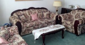 3 seater couch, love seat, chair