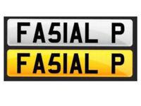 FA51AL P - Fasial P , Faisal P , Fee , Faz , Number Plate , Merc , BMW , GTD , Toyota , C63 , G3