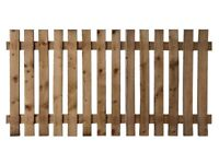 4ft x 4ft wooden fence panels