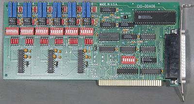 Measurement Computingomega Cio-dda06 6-channel Output Board