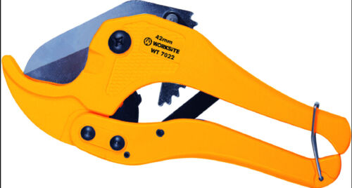 """Worksite Heavy Duty PVC Pipe Cutter with Metal Handle 1- 5/8"""" (42mm)"""
