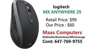 Logitech MX Anywhere 2S , wireless Mouse