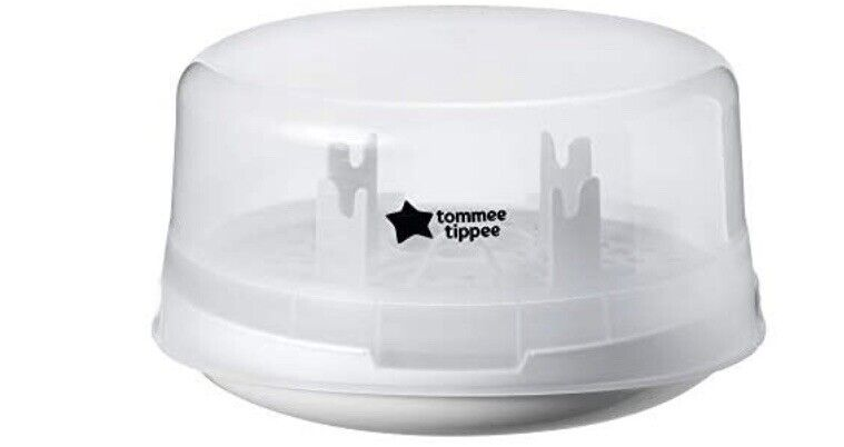 Tommy Tippee Microwave Travel Steam Baby Bottle - Sterilize 4