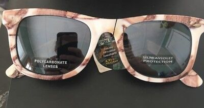 Ray Charles Sunglasses (Fall Transitions WHITE Camouflage FULL FRAME Ray Charles)