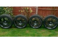 19 inch alloys mercedes replicas staggered Inc tyres