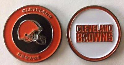 New Cleveland Browns NFL Golf Ball Marker + Free BONUS!!!
