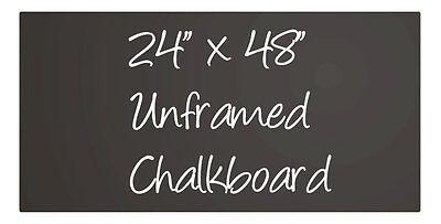Large Black Menu Chalkboard Sign Chalk Board Unframed 24 X 48 Neoplex