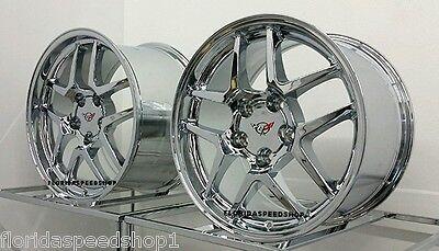Chrome C5 Z06 Style Corvette wheels  FITS: 1997-2004 C5 CORVETTE  17/18