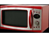 ***NEW***Russell Hobbs RHM1750R 17 Litre 700W Red Digital Microwave With Handle