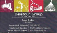 Delatour Group | Property Maintenance SNOW and LAWN CARE