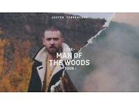 Justin Timberlake Standing Tickets - Manchester